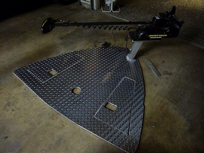 Deck Mount Trolling Motor Bracket Images